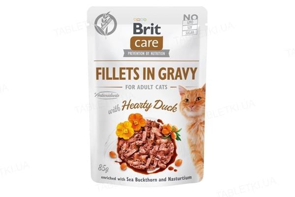 Корм влажный для кошек Brit Care Cat pouch со вкусом утки, 85 г