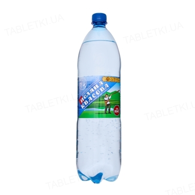 Вода минеральная Поляна Квасова сильногазированная, 1,5 л