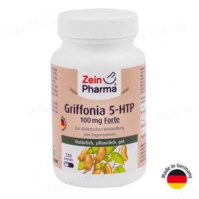 Гриффония 5-HTP (5-гидрокситриптофан) Форте ZeinPharma капсулы по 100 мг №120