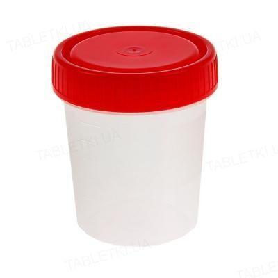 Контейнер для мочи Ecohealth стерильный 60 мл, 1 штука