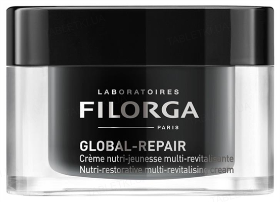 Крем для обличчя Filorga Global Repair мультіревіталізуючий живильний, 50 мл