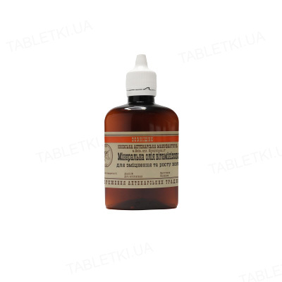 Масло минеральное Киевская Аптекарская Мануфактура витаминизированное для укрепления и роста волос, 100 мл