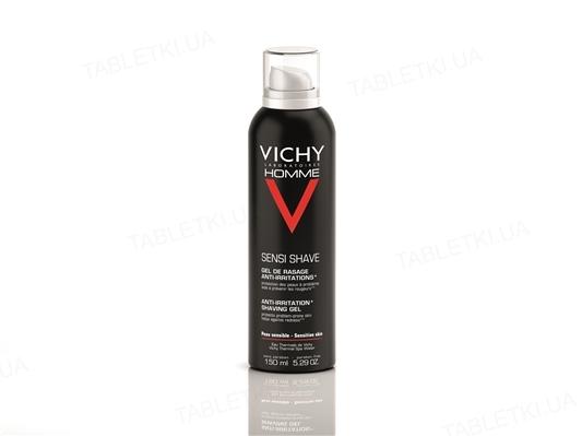 Гель-крем для бритья Vichy Homme для чувствительной кожи, 150 мл