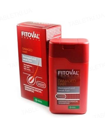 Шампунь Фитовал Формула для поврежденных волос, 100 мл