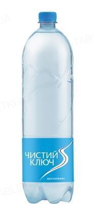 Вода питьевая Чистый ключ, негазированная, 1,5 л
