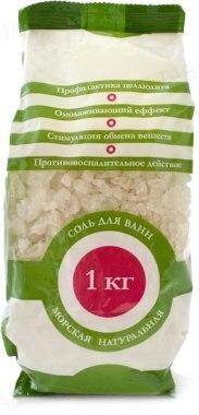 Сіль для ванн Elensee натуральна морська, 1000 г