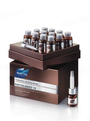 Средство против выпадения волос PHYTO Phytologist 15 комплексное, 12 х 3,5 мл