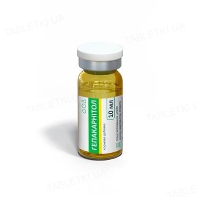 Гепакарнитол (ДЛЯ ЖИВОТНЫХ) раствор по 10 мл во флак. стекл.