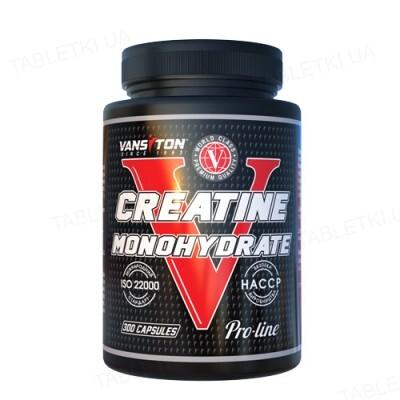 Креатин моногідрат Vansiton Creatine Monohydrate, 300 капсул