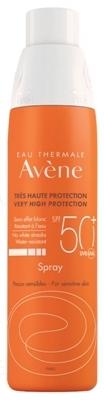 Спрей Avene Солнцезащитный SPF50 +, 200 мл