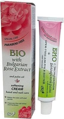 Крем-уход для рук и ногтей Rosa Impex с экстрактом болгарськои розы, 45 мл