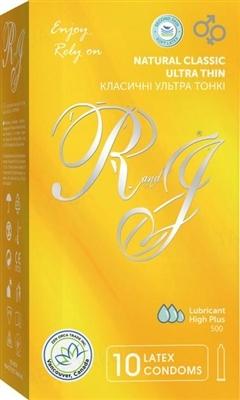 Презервативы R&J Ромео и Джульетта Ultra thin, 10 штук