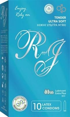 Презервативы R&J Ромео и Джульетта Ultra Soft, 10 штук
