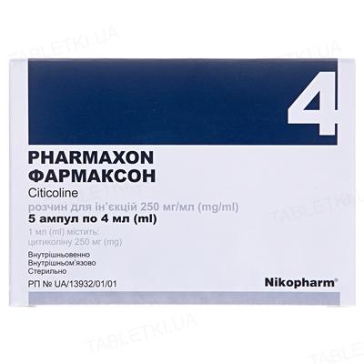 Фармаксон раствор д/ин. 250 мг/мл по 4 мл №5 в амп.