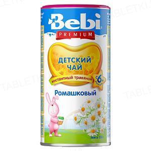 Сухий швидкорозчинний напій Bebi Premium Чай з ромашкою, 200 г