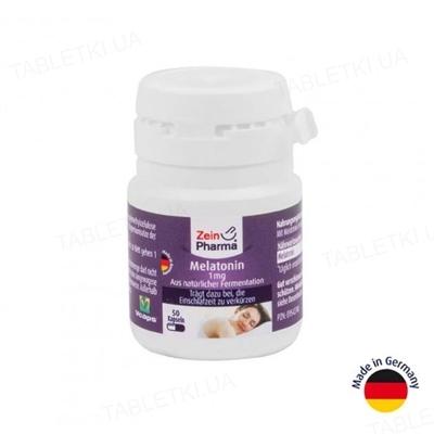 Мелатонин ZeinPharma капсулы по 1 мг №50