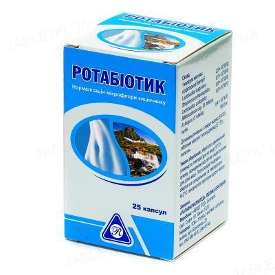Ротабиотик капсулы №25 во флак. полим.