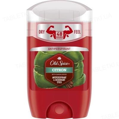Дезодорант-антиперспирант Old Spice Citron твердый, стик, 50 мл