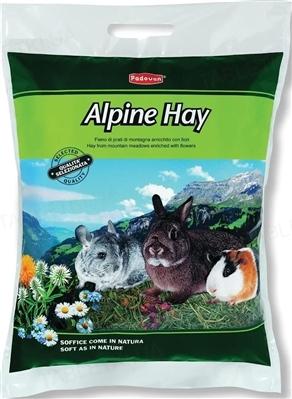 Корм для грызунов Padovan Alpine-Hay альпийское сено, 700 г