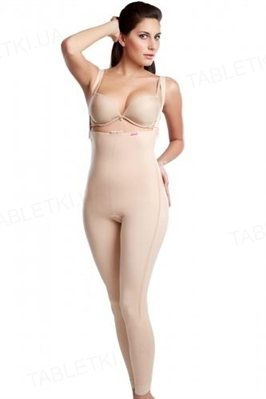 Бандаж женский компрессионный Липоэластик VB comfort, цвет черный, размер L