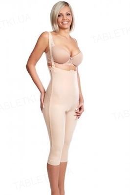 Бандаж женский компрессионный Липоэластик VD special comfort, цвет бежевый, размер L