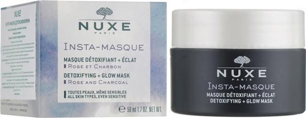 Инста-маска Nuxe Insta-Masque Detoxifying детоксифицирующая, 50 мл