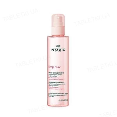 Мист Nuxe Very Rose Fresh тонизирующий освежающий, 200 мл