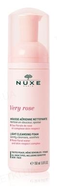 Мусс Nuxe Very Rose очищающий для лица, 150 мл