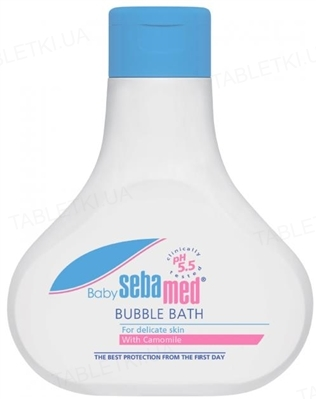 Пена для ванн Sebamed Baby Bubble Bath детская, 200 мл