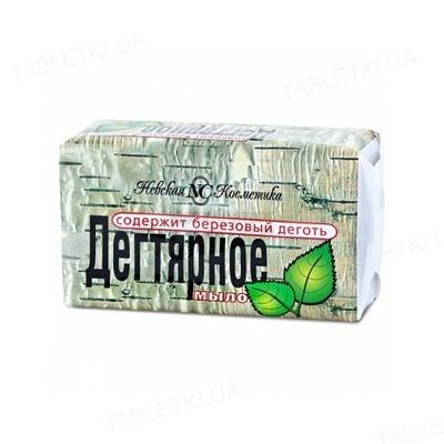 Мыло твердое Невская косметика Дегтярное, 140 г