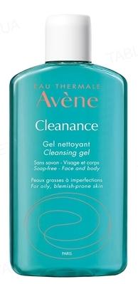 Гель для лица и тела Avene Cleanance очищающий для проблемной кожи, 200 мл