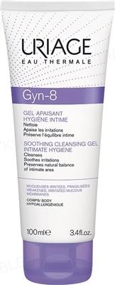 Гель для інтимної гігієни Uriage Gyn-8 заспокійливий, очищающий, 100 мл