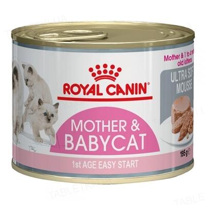 Корм влажный для котят Royal Canin Babycat Instinctive до 4 месяцев, 195 г
