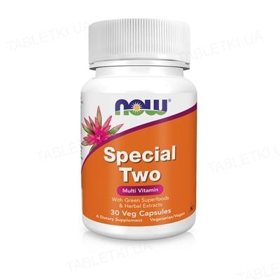 Мультивітамінний комплекс NOW Special Two Multi капсули №30
