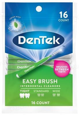 Межзубные щетки DenTek Удобная очистка для узких промежутков, 16 штук