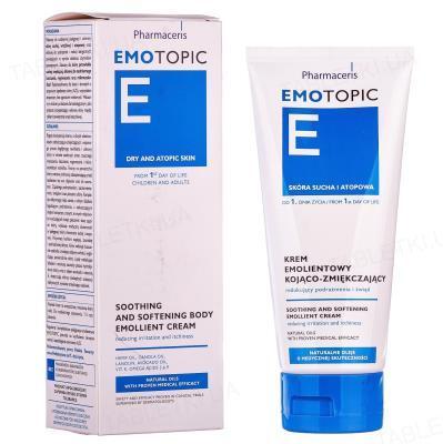 Крем Pharmaceris E Emotopic для тела эмолентный успокаивающий смягчающий, 200 мл