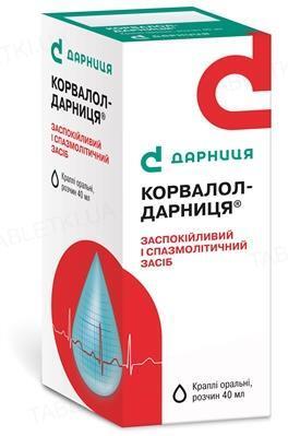 Корвалол-Дарница капли ор., р-р по 40 мл во флак.