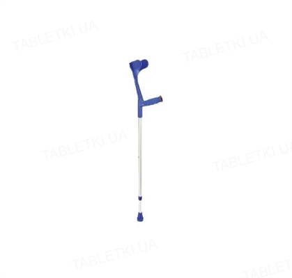 Костыль подлокотный Ossenberg 220 DSKbl с мягкой ручкой синий подлокотник
