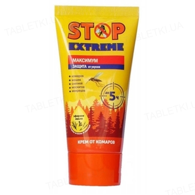 Крем от комаров Stop Extreme Максимум, 50 мл