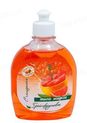 Мыло жидкое Вкусные Секреты Грейпфрут, 300 мл