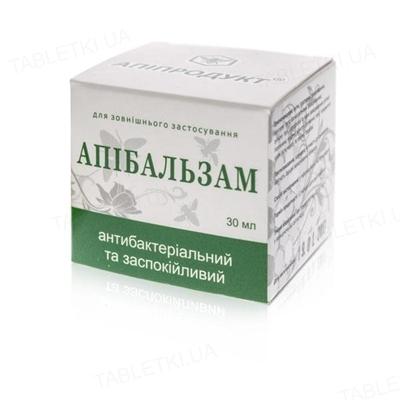 Апипродукт Апибальзам антибактериальный и успокаивающий, 30 мл