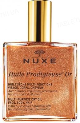 Масло сухое Nuxe Huile Prodigieuse Чудесное золотое, 50 мл