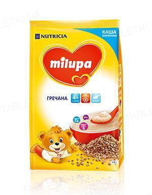 Сухая молочная каша Milupa быстрорастворимая гречневая для детей с 4 месяцев, 210 г