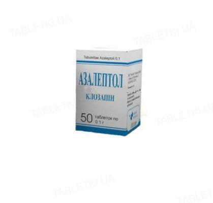 Азалептол таблетки по 100 мг №50 в конт.