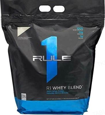 Протеин R1 (Rule One) Whey Blend Ванильный крем, 4626 г