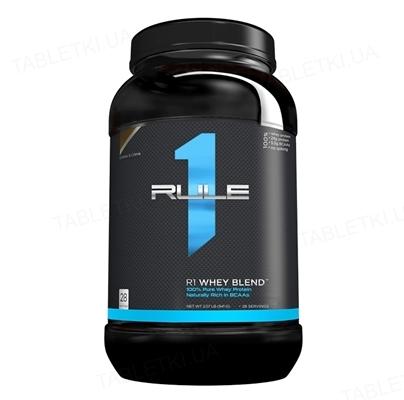 Протеин R1 (Rule One) Whey Blend Соленая карамель, 920 г