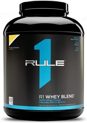 Протеин R1 (Rule One) Whey Blend Банан, 2236 г
