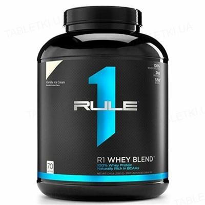 Протеин R1 (Rule One) Whey Blend Ванильный крем, 2304 г