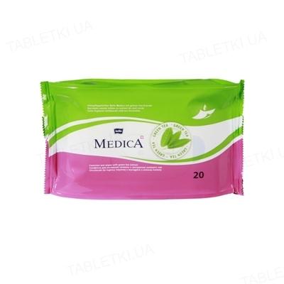 Серветки вологі Bella Medica для інтимної гігієни, 20 штук