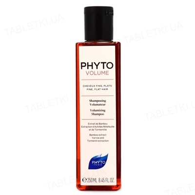 Шампунь Phyto Phytovolume для тонких волос, 250 мл
